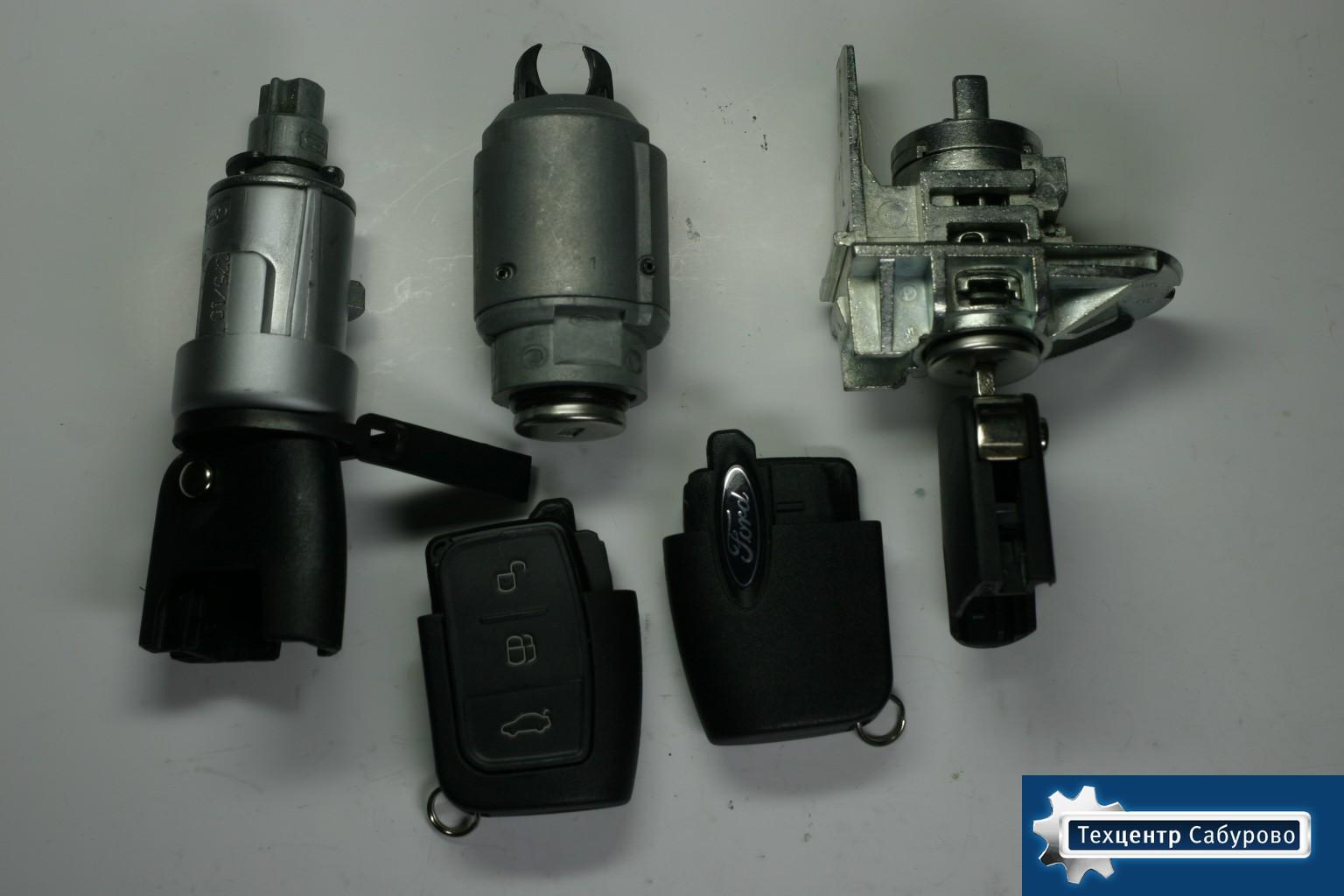 Форд фокус 2 замена замка зажигания и личинок 2 фотография